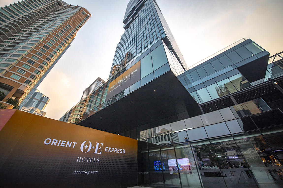 Orient Express Mahanakhon Bangkok Opening Soon
